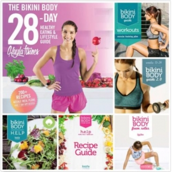 Kayla Itsines Bikini Body Guide -> 10 ebooków